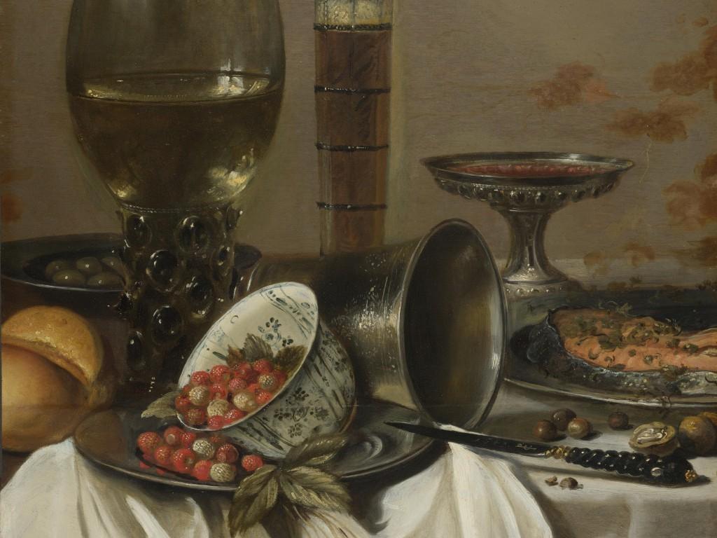 Питер Клас, Натюрморт с сосудами для питья.