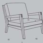 Кресло Lucca (1)