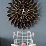 Часы Sunflower Clock  (3)