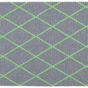 Dot Carpet Electric Green 150×200