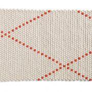 Dot Carpet Poppy Red 80×100