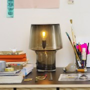 Muuto-Cosy-In-Grey-Table-Lamp-Desk-Lifestyle