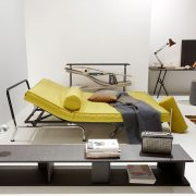 orl-2015_skater-sofa-bed_classic-skater-alvis-mattress_sharp-cover-554-soft-mustard-flower-daybed-position