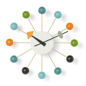 Vitra-Ball-Wall-Clock-Multicoloured