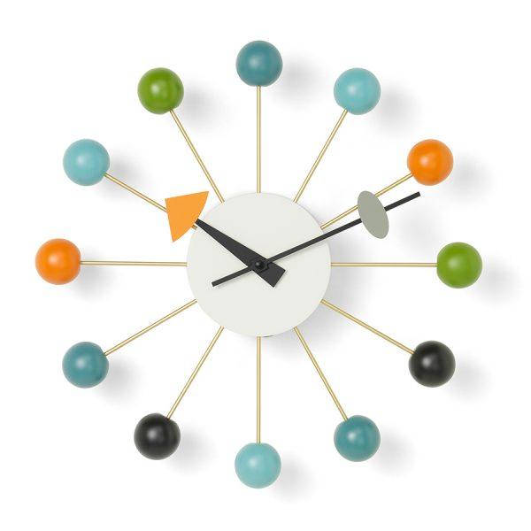 Vitra-Ball-Wall-Clock-Multicoloured