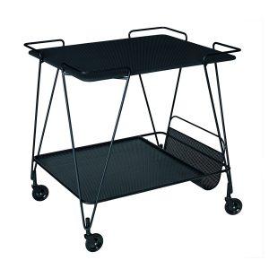 Gubi-Mategot-Trolley-in-black