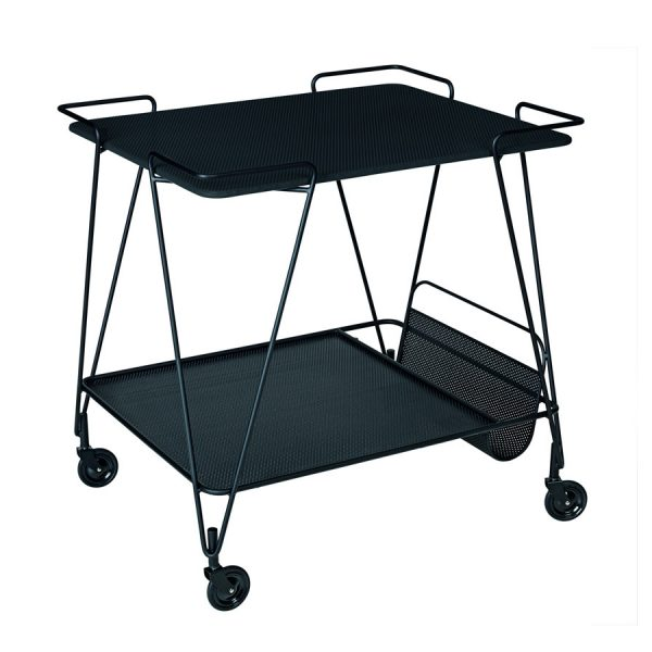 Gubi-Mategot-Trolley-in-black
