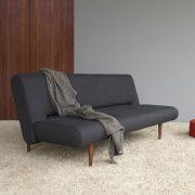 INNOVATION-UNFURL-SOFA-BED-DARK-STYLETTO-WOOD-LEGS-515-NIST-BLACKlowres