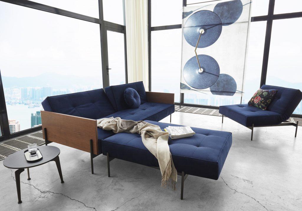 Splitback-lauge-walnut-veneer-arms-541-velvet-dark-blue-4