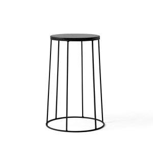 Menu-Wire-Series-Side-Table-40cm-BLACK