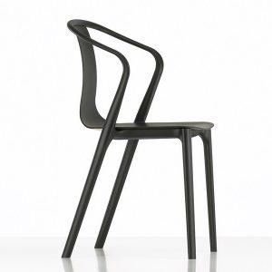 Vitra-Belleville-Armchair-Black-Plastic-main