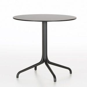 Vitra-Belleville-Outdoor-round-table-black