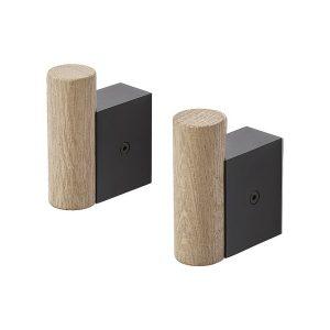 Muuto-Attach-Hooks-Black-Oak